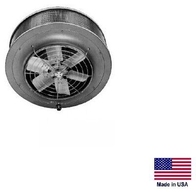 Unit Heater - Steam Hot Water Commercial - 139000 Btu - 115v - Vertical Mount