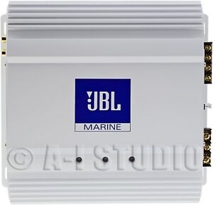 JBL MA6002 MARINE/BOAT AUDIO STEREO 2 CHANNEL CLASS AB SUBWOOFER AMPLIFIER/AMP