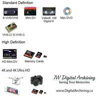 Vhs to DVD or Digital file! Best quality guranteed