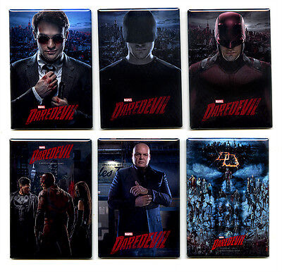 DAREDEVIL - POSTER MAGNETS (netflix defenders jessica jones punisher print - Print Magnets