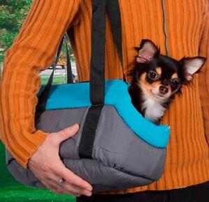 Accessoires-animaux-sac-de-transport-en-tissu-pour-petit-chien-ou-chat-bleu