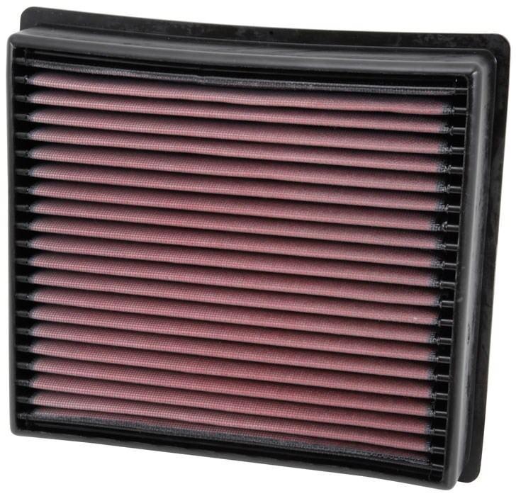 K/&N Filters Fits 2013-2018 Ram 3500 4500 2500 5500 Hi-Flow Air Intake Filter