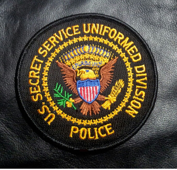 SECRET SERVICE UNIFORM DIVISION HOOK PATCH BY MILTACUSA