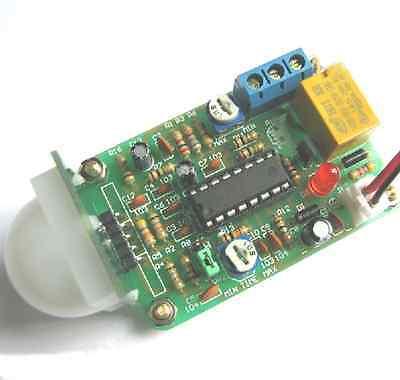 Infrared Pir Human Sensor Switch Module Pyroelectric Diy Kit Pym-1 For Arduino