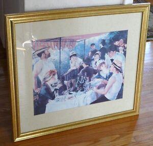 Large Gallery-framed Artwork Painting