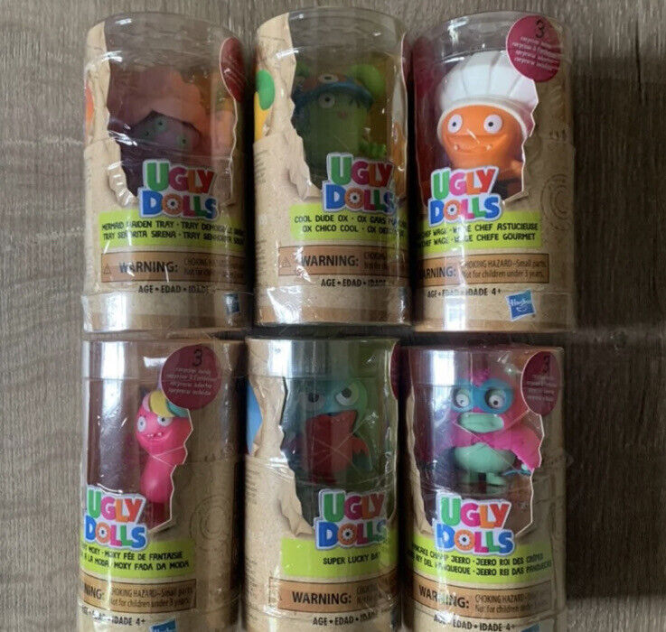 Hasbro Ugly Dolls Collectibles Complete Lot Of 6  Hasbro Toys