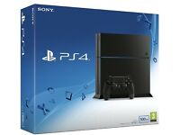 Playstation 4 500GB boxed with FIFA 17, controller and cables