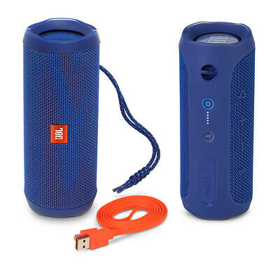 JBL Flip 4 Portable Bluetooth Speaker Oem Packaging-Blue-Mint