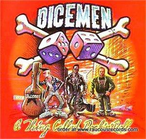 DICEMEN-A-Thing-Called-Rock-n-Roll-CD-Psychobilly-Rockabilly-Punk-NEW