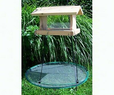 "Songbird Essentials 24"" SeedHoop SEED HOOP SEED CATCHER PLATFORM BIRD FEEDER"