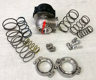 SALE TiAL MVR 44MM WASTEGATE MV R V BAND FLANGES ALL SPRINGS INCLUDED BLACK