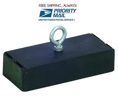 Super Powerful - Strong Retrieving Magnet 250 Lb. Pull 250 Pounds Priority Ship