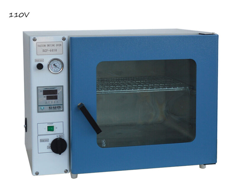 110V 1.9 Cu Ft Digital Vacuum Drying Oven for Laboratory with 2 Shelves