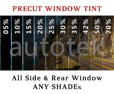 PreCut All Sides & Rear Window Film Any Tint Shade % for Ford Mustang (Ford Mustang Tinted Glass Window)