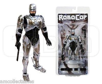 """NECA - BATTLE DAMAGED ROBOCOP - 7"""" ACTION FIGUR FIGURE  - NEU/OVP"""