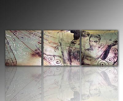 IMMAGINI DISEGNO - PARETE moderno ASTRATTO   Soggiorno   - 160x50cm