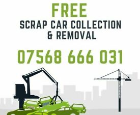 Scrap Cars, Van's, 4x4, Mot Failures Wanted Free Collection 10