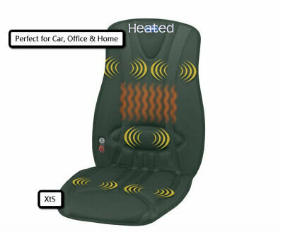 Car Seat Cushion Heat Body Massagers Electric Massage Auto Chair Support Office - Office Massage Chair