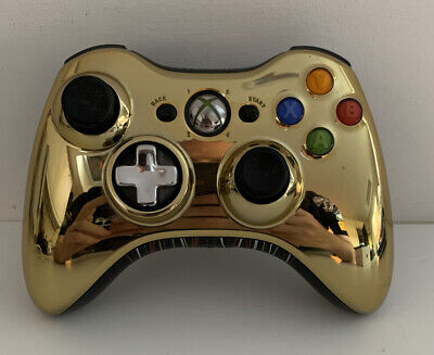 Xbox 360 LIMITED EDITION STAR WARS C3PO Gold Controller Great Condition