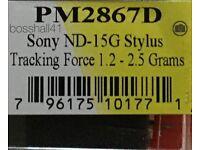 Sontra Diamant Nadel Sony ND 15 G XL 15 XL 25-676 NEU in OVP 25 G