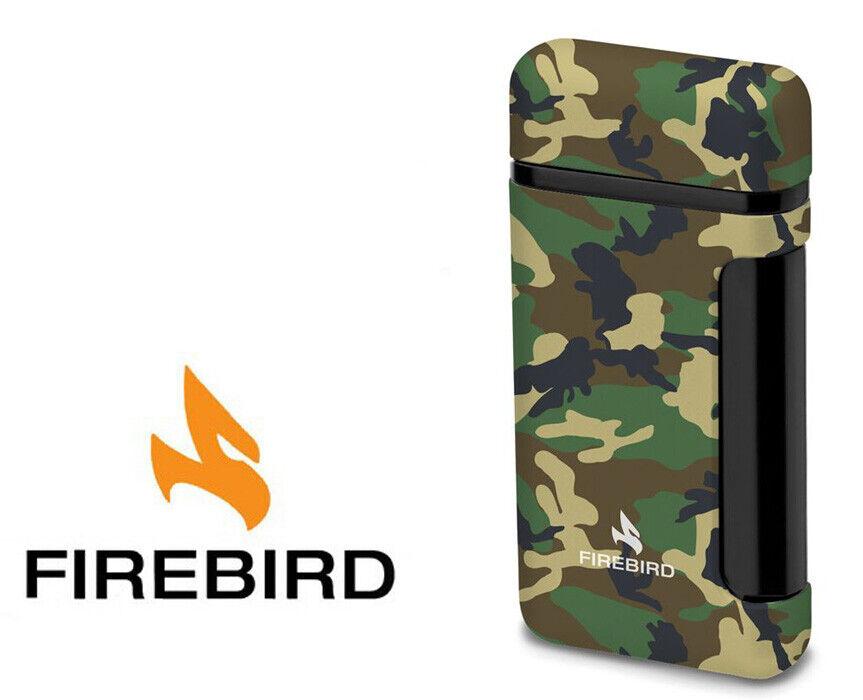 Firebird Sidewinder Woods Camo Cigar Lighter Butane Single T