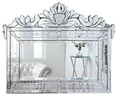 """Venetian Mirror Vanity Wall Beveled 42"""" Ornate Bathroom Dining Room Bedroom New"""