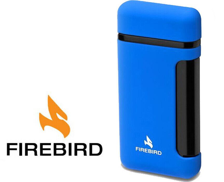 Firebird Sidewinder Blue Cigar Lighter Butane Single Torch B