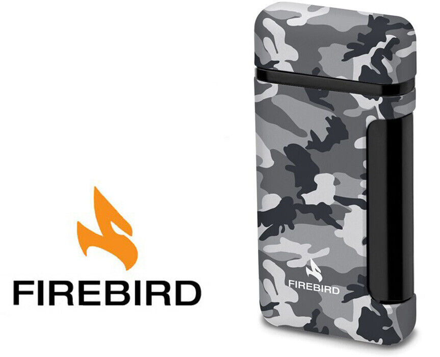 Firebird Sidewinder WInter Camo Cigar Lighter Butane Single