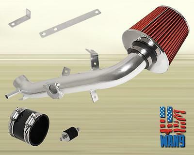 """2.75"""" Air Filter Cold Intake Chrome Kit for 2006-2011 Toyota Yaris 1.5L 1NZ-FE"""