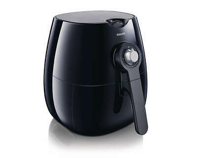 Philips Viva Collection 1425 Watt Low-Fat Multi-Cooker Airfryer - Black