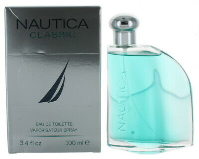 Classic by Nautica for Men EDT Cologne Spray 3.4 oz.-Shopworn NEW