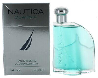 Nautica Classic by Nautica for Men EDT Cologne Spray 3.4oz - Damaged Box