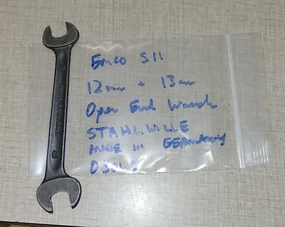 Emco Maximat Super 11 Lathe 12mm 13mm Open End Wrench Stahlwille 0301c