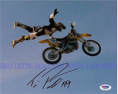 Travis Pastrana Signed Autographed 8X10 Rp Photo Nitro Circus X Games Stunts