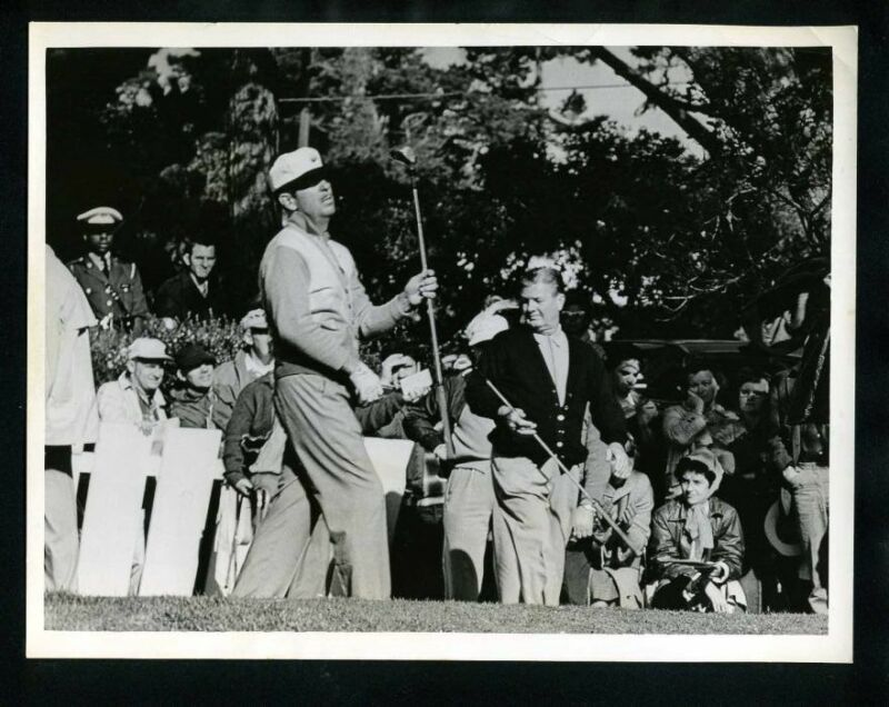 1950s TENNESSEE ERNIE FORD Playing Golf Vintage Original Photo gp