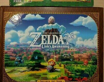 Nintendo The Legend of Zelda Link's Awakening Dreamer Art Book |OPENED, UNUSED