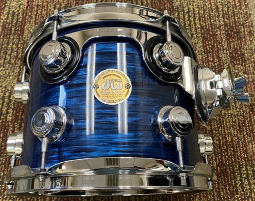 "ADD THIS 10"" DW COLLECTORS SERIES DRUM WITH TOM MOUNT"