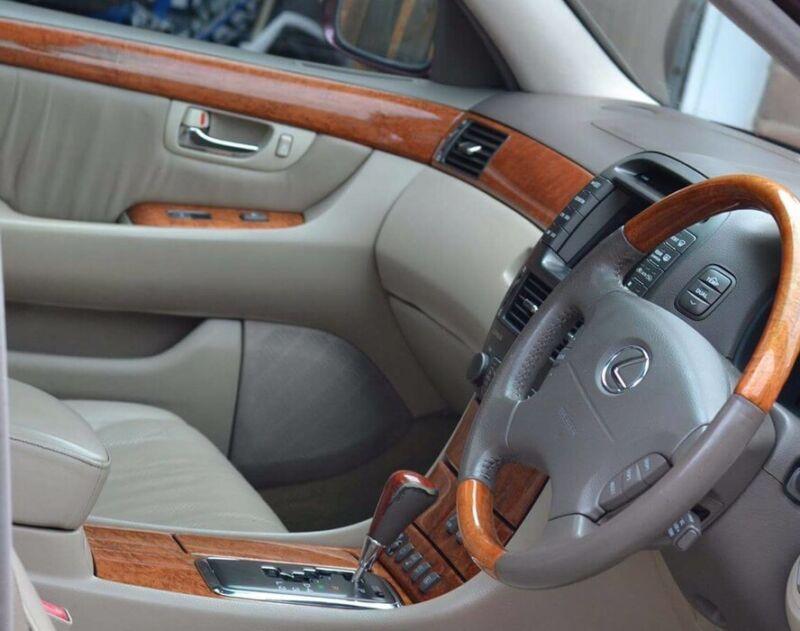 Lexus Ls430 Facelift Full Wood Trim Switches Centre Console Window Walnut
