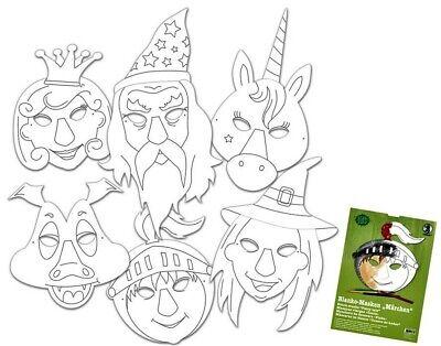 ken nach Themen Masken Fasching Kindergeburtstag Bastelset (Kinder Geburtstag Themen)