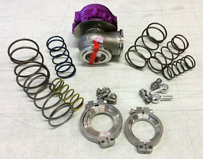 SALE TiAL MVR 44MM WASTEGATE MV R V BAND FLANGES ALL SPRINGS INCLUDED KIT PURPLE