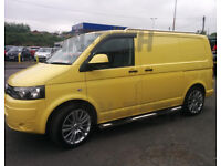 VW T5 SWB LWB Stainless Steel Roof Rails only £100!!!