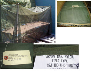 US-Military-Surplus-MOSQUITO-FIELD-Insect-NET-NETTING