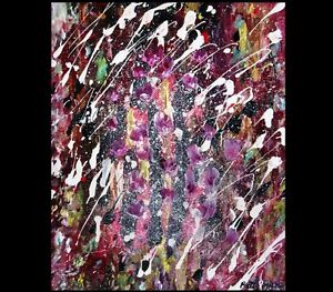 Peinture Tableau Painting Tableaux Abstract Abstraite by MILLA!