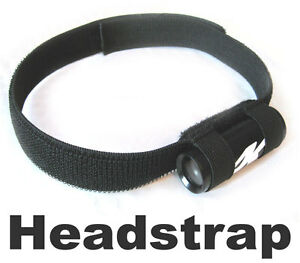 Head mount for Bullet Camera, lipstick cam headstrap for snowboard ski helmet