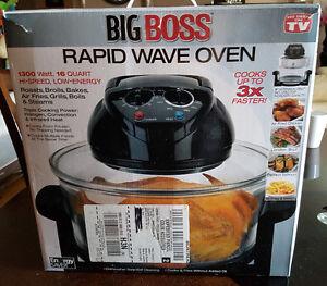 Big Boss Rapid wave oven 16 quart 1300-watt halogen