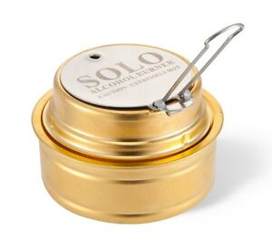 Solo Alcohol Burner - Spirit Alcohol Stove for Backpacking, Camping, Hiking