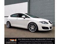 Stunning SEAT Leon White 1.9TDI SE (Not Golf, Audi A3, Jetta, A4, Astra, Insignia, Caddy etc)