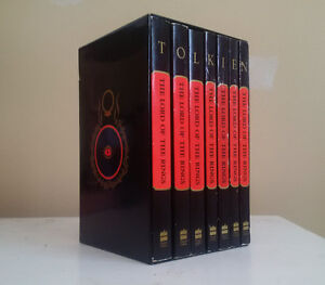 RARE 7-Book Lord of the Rings Box Set