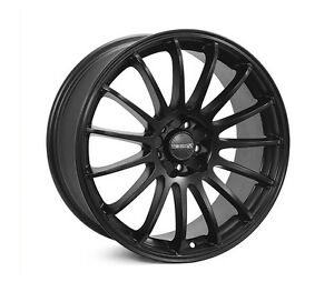 Holden Astra Lenso Speed 2 Satin Black 18X8 5X110 Et40 Four Wheels Only