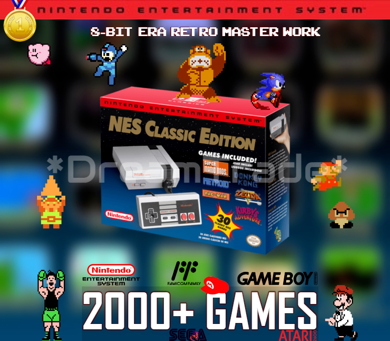NES Classic Edition Nintendo Entertainment System Mini Conso